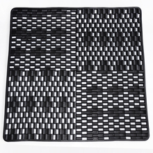 Attractive design simple and fashion shower pvc fast dry bath mat
