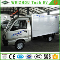 RWD High Quality Electric Box Cargo Truck