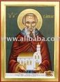 Religious icon of Saint Savvas