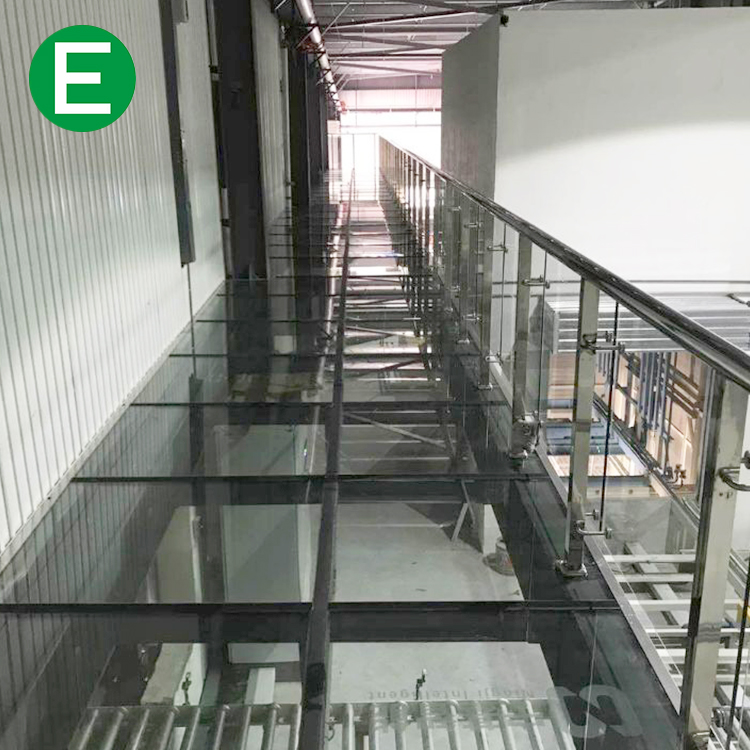 High Quality Non-slip Tempered Laminated Glass Bridge for Visiting