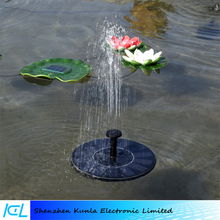 Cheapest Floating Round Solar Water Fountain Submersible Water Pump
