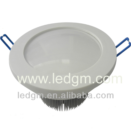 High luminaire 12w led round flat panel downlight for residential lighting