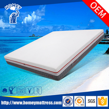 Confortable latex sponge foam mattress for bed 3D breathable fabric
