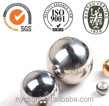 SUS201 3.969mm G100 Stainless steel ball for automobile <strong>parts</strong>