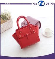 Cheap PU Leather Lady Wing Bag Women Smile Face Bag Messenger Bag 2016