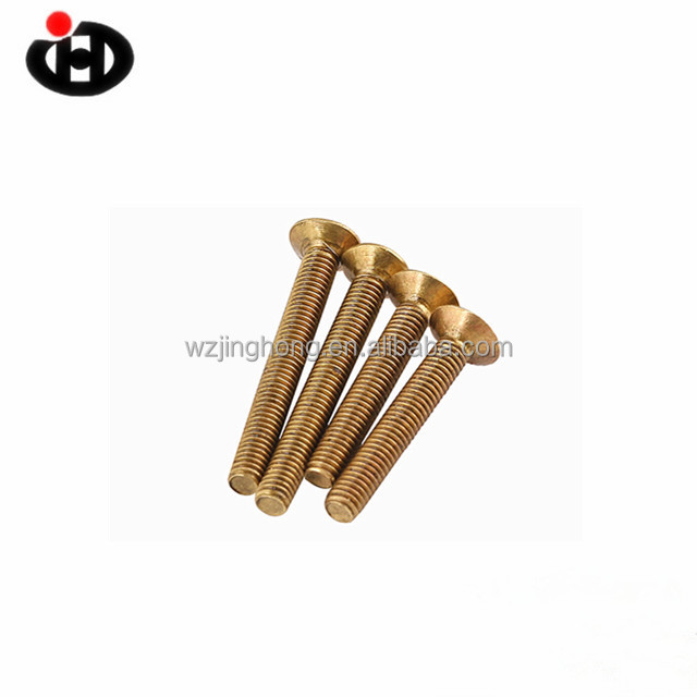 M1.6 M2 M2.5 M3 Cross Recessed countersunk Head Screws Copper Screw