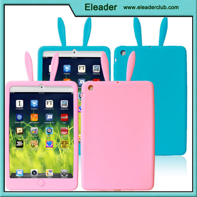 OEM cute cartoon 3d case cover for ipad mini