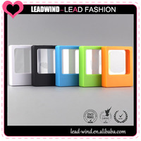 Thin plastic packaging box,clourful accessories box case