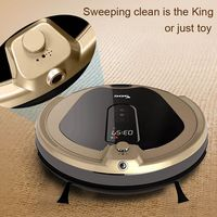 Gold Wifi Automatic Vacuum Robot For