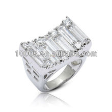 Fashion Silver Male Ring Jewelry