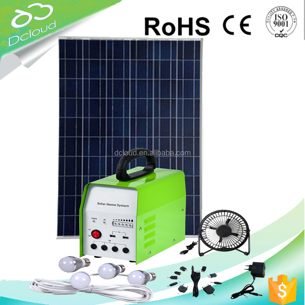 energy saving 30w solar electricity generating solar green lighting systems