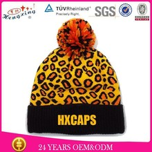 2014 New Style Acrylic Design Your Own Beanie Hat Knitted Children Winter Hat