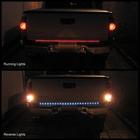 NEW Red LED Tailgate Light Bar Strip Tail-Gate Turn Signal Brake Reverse/led truck lighting