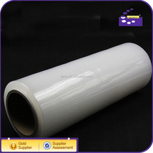 Food Grade Safety Transparency PE Shrink Cling Film Roll / Stretch Wrap Film