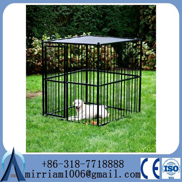 High quality used galvanized welded wire dog kennels /lows dog kennels and runs
