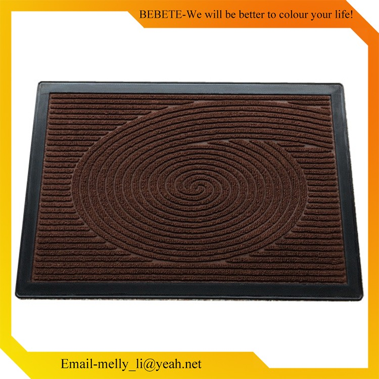 Hot China Products Wholesale PP Solid colour Mat , Rubber Sheet Floor Mat