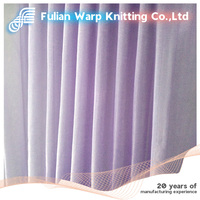100% nylon warp knitting mesh fabric for dress,decoration tulle