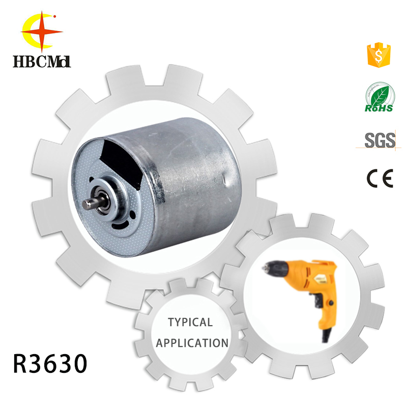 China 5 hp dc motor With CE and ISO9001 Certificates