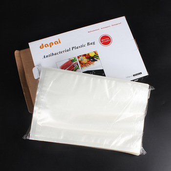Clear Plastic Food Vacuum Packaging Embossed Vacuum Bag