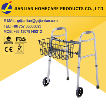 JL Health Care Adult Exercises Walker for Disable with basket JL967LWB