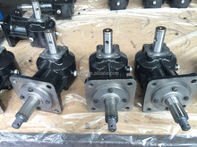 GTM 1:1.93 ratio gearbox for lawn mower