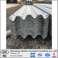 W Beam Stainless Highway Guard Rail Plate