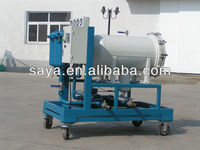 high quality Polyester dehydration hydraulic used oil filter machine
