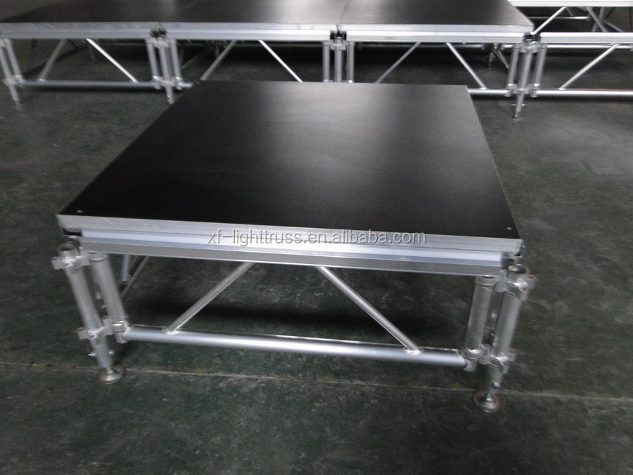 Aluminum adjustable concert portable stage from Guangzhou