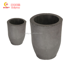 High Strength and high pure Graphite crucibles for melting steel