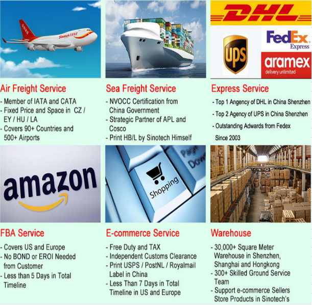 Discounted UPS, DHL, FEDEX, EMS, TNT courier door to door service to Germany