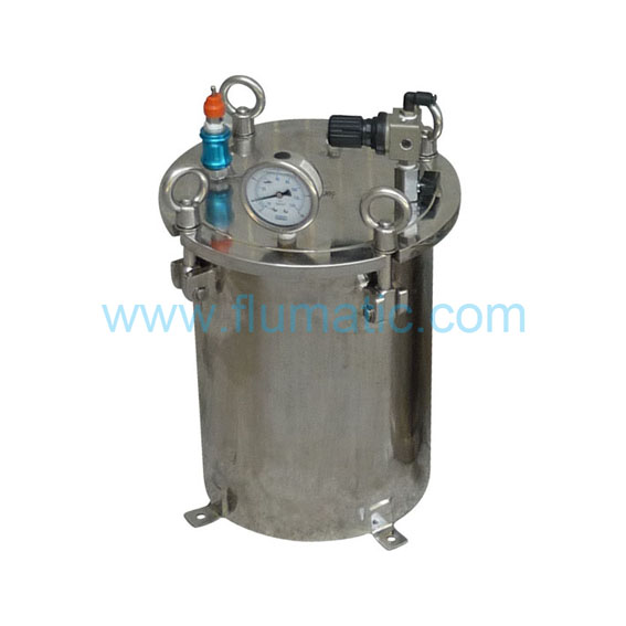 10L Iiquid Control Equipment Pressure Tank SUS304