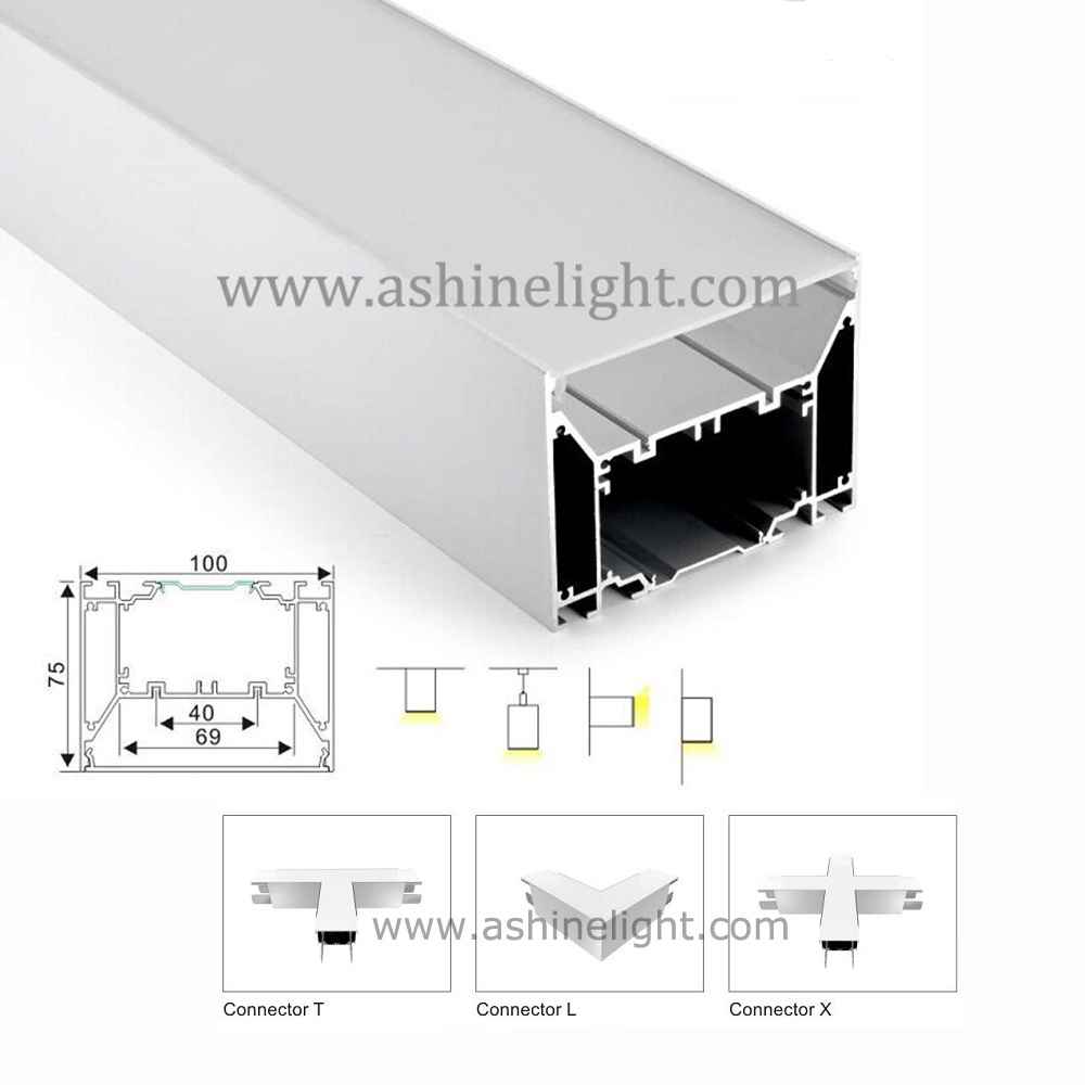 Ashinelight Lighting SYB-D100 Corner Cove Aluminium LED Profile for shelf under cabinet light