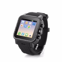 MTK6572 Dual Core Android 4.4 Smart 2015 new Wrist Watch Mobile Phone/ 3G GSM Water Resistant Android Smart Bluetooth Watch