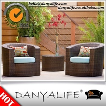 DYBS-D320C Danyalife Synthetic Rattan Balcony Small Table and Chairs