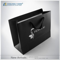 Lower Price Recycled Custom Printed Gift Paper Shopping Bag