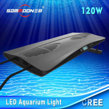 Creating sunshine 120W dimmable CE RoHS approved intelligent Led aquarium light