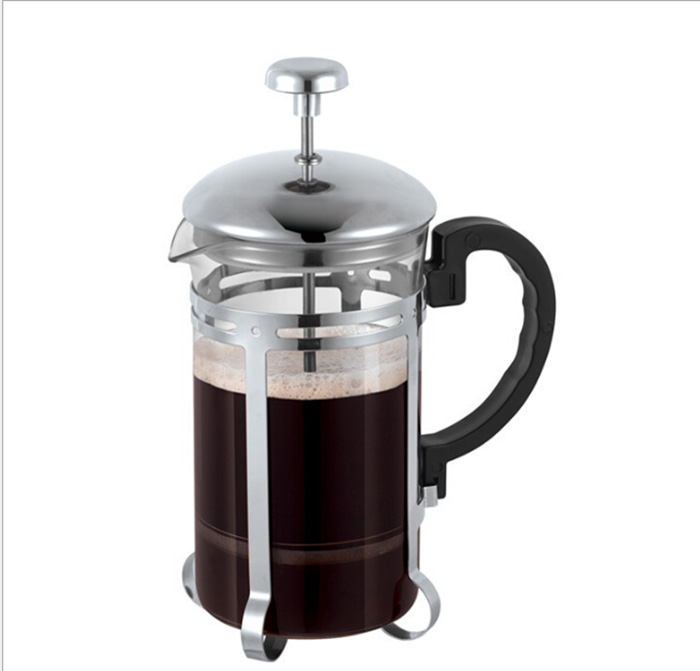 French press coffee plunger coffee maker stainless steel high quality cofffee pot tea pot
