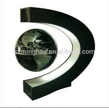 Delicate C shaped Acrylic magnetic levitation wine display device, new product hot selling on alibaba