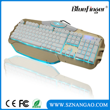 Factory offered USB Wired programmable mechanical gaming keyboard