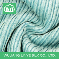 blue and white stripe eco-friendly fabric, fabric corduroy for towel