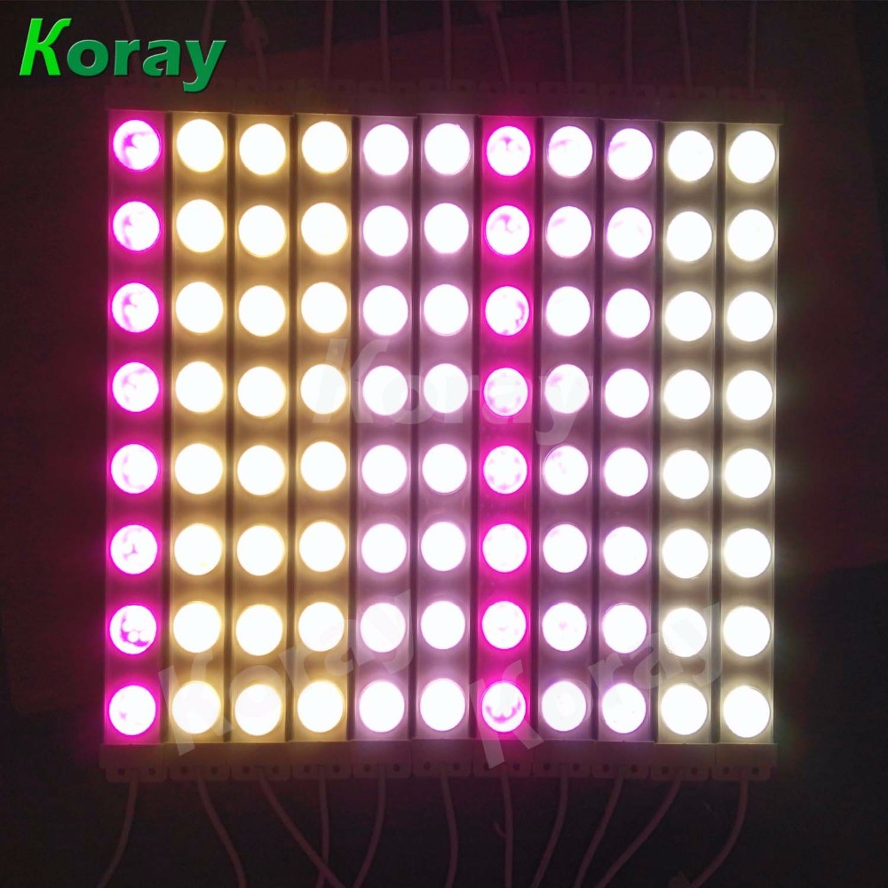 Provide various light spectrums or customized waterproof LED plant growing lamp