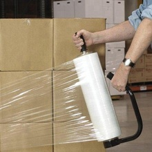 LLDPE Packaging Plastic Roll Pallet Wrap Stretch Plastic Film For Packaging