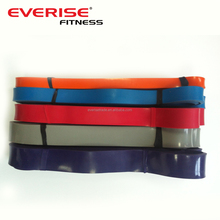 Resistance loop bands, fitness equipment multi station, latex resistance loop band