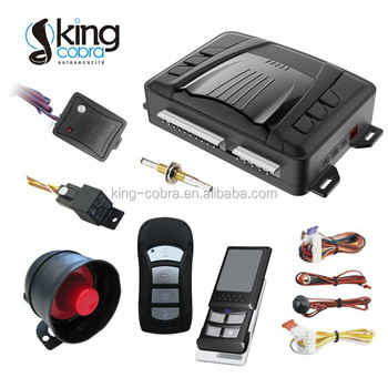 New Arrival KC-D39 Ultrasonic Iran Design Car Alarm
