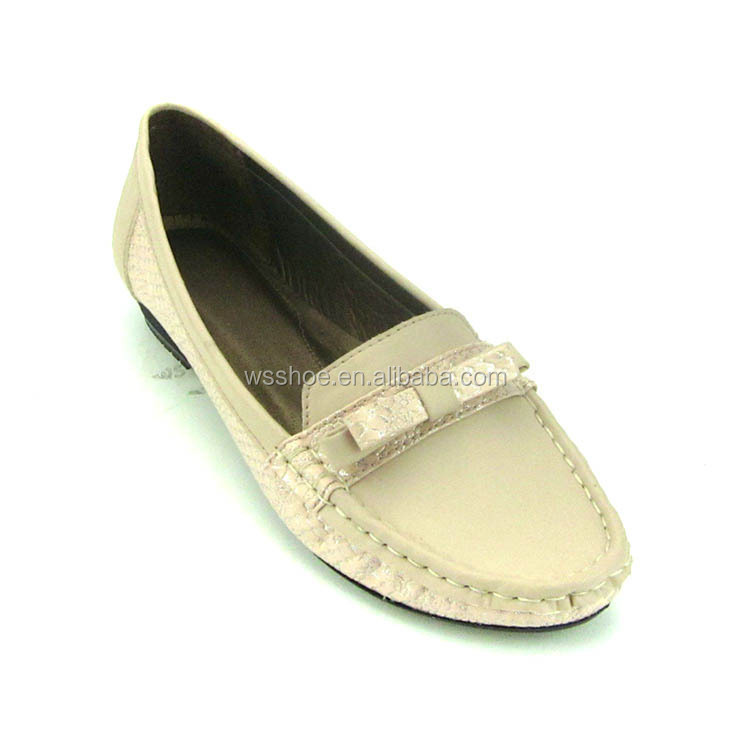 women fancy wedge heel brand handmade leather good style loafer shoes