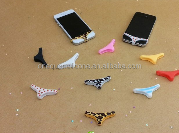 Fashion hot selling customed silicone underwear for iPhone