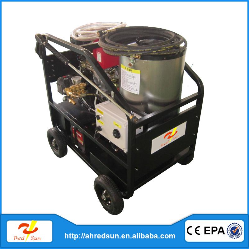 industrial 5.5hp hot water high pressure washer