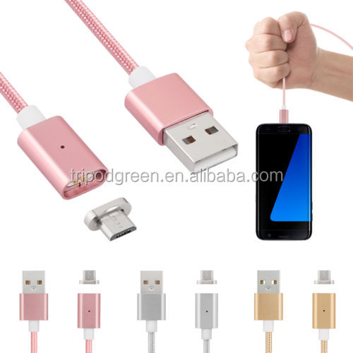 Magnetic Data Line Charging Transfer Sync USB Cable Adapter Convenient Android