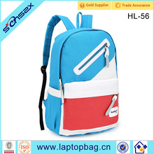 2017 fashion school backpack personalized canvas school bag from baigou baoding
