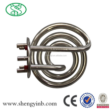 Electric tubular kettle heating element for water boiler with CE